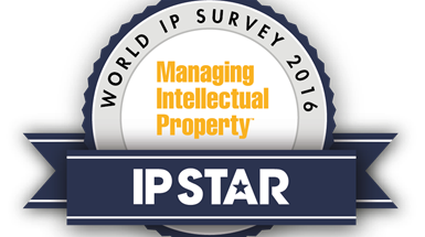 Several specialists in Wynne-Jones IP announced as IP Stars