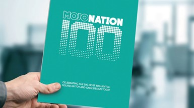 Wynne-Jones IP named headline sponsor of inaugural Mojo Nation 100; A celebration of the leading global figures working in toy and game design
